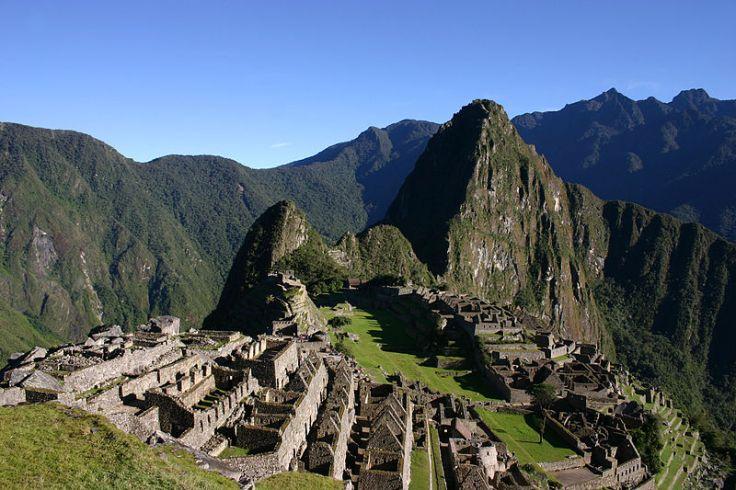 Machu Picchu, Andes Mountains in Peru