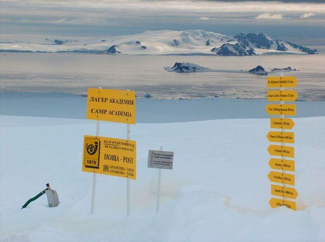 Antarctic postal service