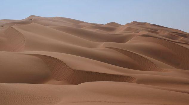 Dunes in Rub al Khali, Arabian Desert