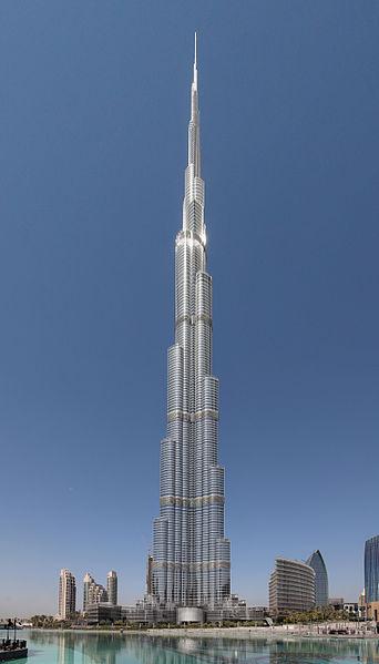 Burj Khalifa, Dubai, UAE - world's tallest man-made structure