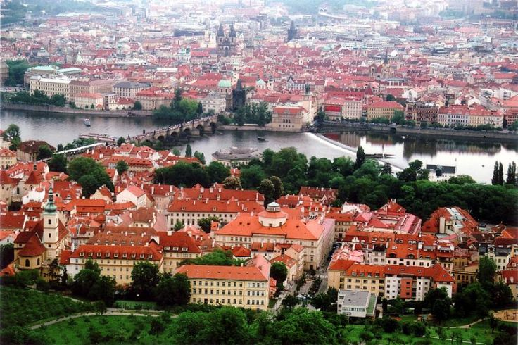 View of Old Town, Prague