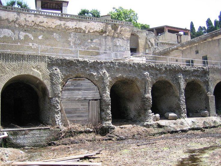 Ruins at Herculaneum (Ercolano), Italy