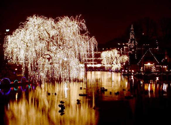Twinkling Tivoli Gardens, Copenhagen