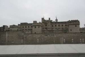 The Tower of London - I walked past this everyday from my hostel to the Underground (subway)