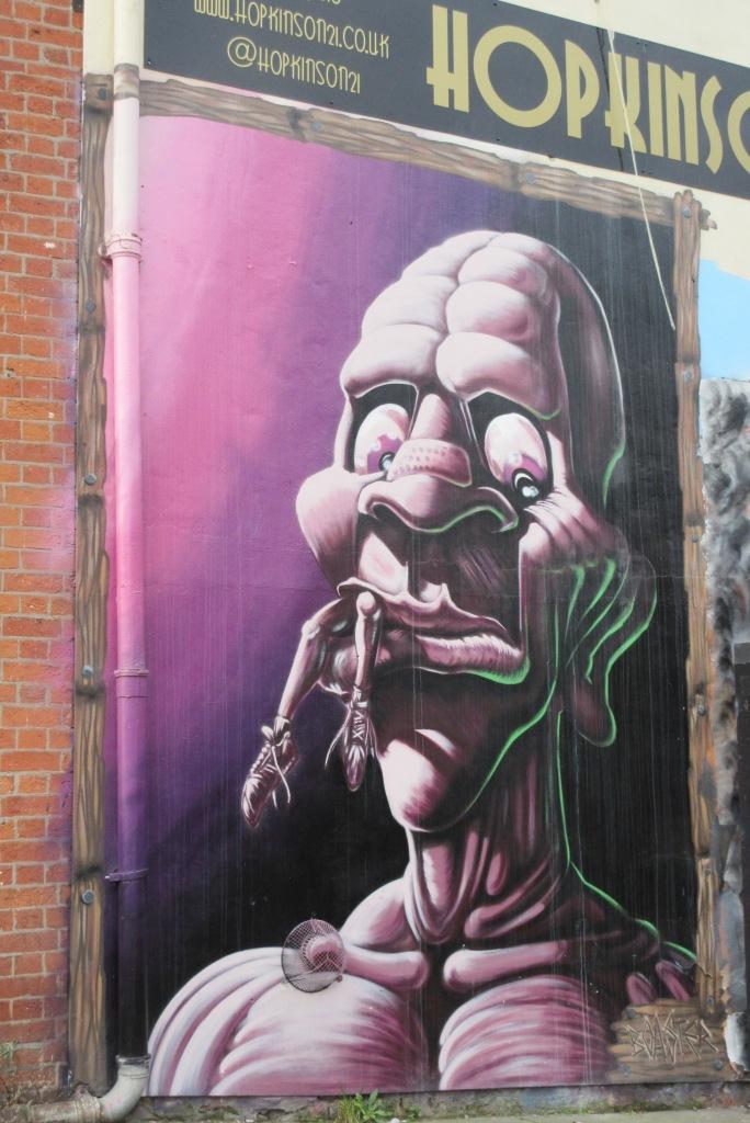 Some Nottingham street art