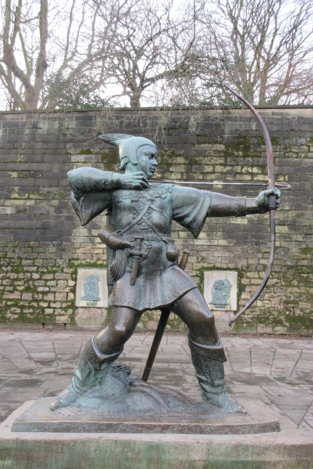 Statue of Robin Hood, Nottingham