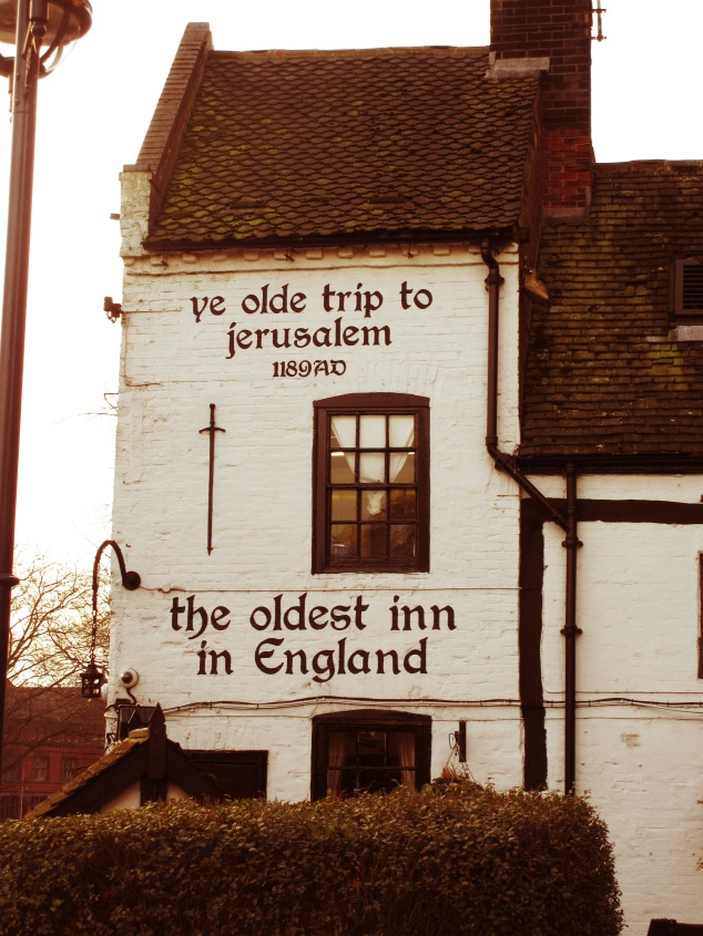 Ye Olde Trip to Jerusalem, oldest pub in England