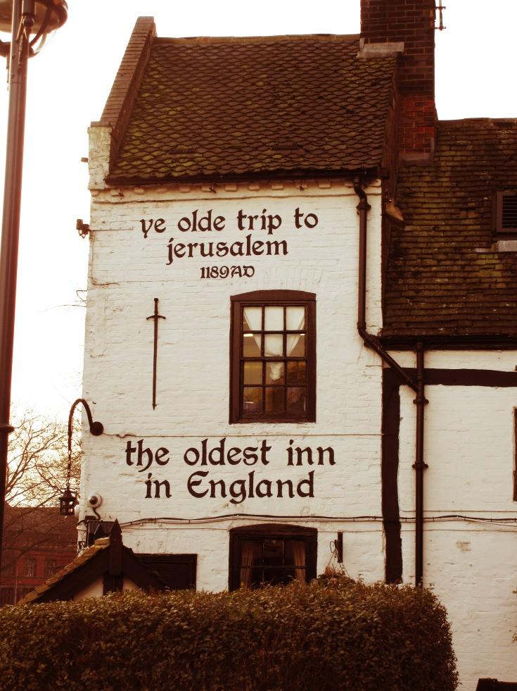 Ye Olde Trip to Jerusalem, oldest pub in England