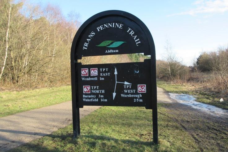 Trans Pennine Trail near Wombwell
