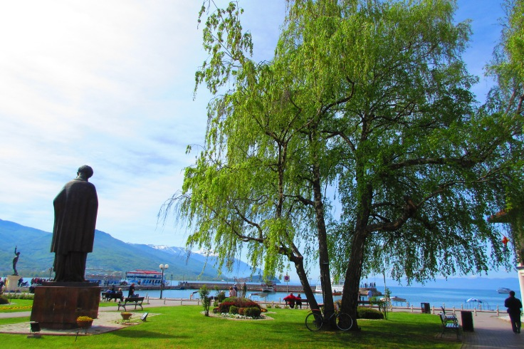 Ohrid waterfront