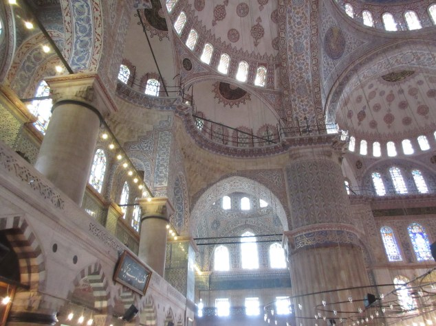 Interior of the Blue Mosque, Istanbul