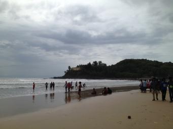 Baga Beach, Goa. Photo taken and owned by Eeva Valiharju/Wanders The World