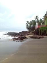 After the rain on Anjuna Beach, Goa. Photo taken and owned by Eeva Valiharju/Wanders The World