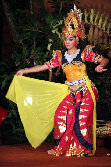Balinese Dancer - Photo Credit via Wikimedia Commons - taken and owned by Yves Picq