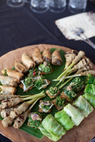 Balinese Food - Photo Credit via Wikimedia Commons - Taken and owned by Ubud Writers Festival
