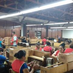 A cigar factory in Esteli