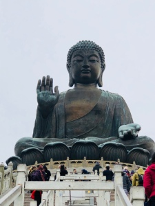Big Buddha on Lantau Island