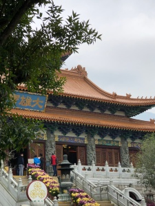 Temple at Po Lin Monastery