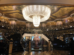 Interior of the Grand Lisboa Hotel and Casino